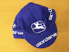 GIORDANA CYCLING BIKE CAP - Made in italy - Fixed Gear Style - Blue