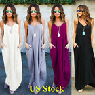 Hippie Boho Womens Summer Evening Cocktail Party Summer Beach Long Maxi Dress Us