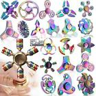 Fidget Finger Spinner Hand Focus Ultimate Spin EDC Bearing Stress Toys Rainbow