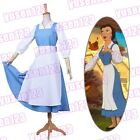 Animation Beauty and the Beast Belle Halloween Cosplay Clothing Maid Fancy Dress