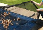 Rectangle Above or In-Ground Swimming Pool Winter Leaf Net Covers ~Various Sizes