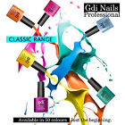 New GDI CLASSIC Nails UV LED Soak Off Gel Nail Polish ✔50 COLOURS TO CHOOSE FROM