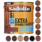 Sadolin EXTRA Durable Woodstain - Available In 13 Natural Colours - 1L