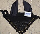 ZAINEE HORSE FLY VEIL EAR NET BONNET BREATHABLE COTTON 27 COLORS FREE SHIPPING