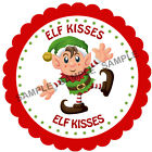 ELF KISSES stickers For Sweet Cones etc, 3 Sizes - Ref CHSMS 01-17