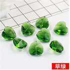 wholesale multicol heart crystal beads 14 mm straight hole heart crysta beads