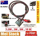 New Gold HDMI to DVI-D 24+1 Pin Digital Cable Lead HDTV BluRay PS3 Xbox 360 TV