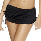 Freya Swimwear In The Mix Skirted Bikini Briefs/Bottoms Black 3828 Select Size