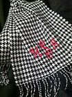 MONOGRAMMED PERSONALIZED INITIAL NAME CASHMERE FEEL SCARF SCARVES WRAP