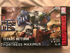 NEW Transformers Generations Titans Return Fortress Maximus Huge! (Damaged Box) For Sale