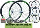 "QR 26"" Rocket Bicycle MTB Bike Front Rear 6/7/8 Speed Wheel Set Double Wall"