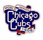Chicago Cubs Vintage World Series 1908  Precision Cut Decal / Sticker on Ebay