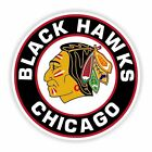 Chicago Blackhawks Round Decal / Sticker Die cut $3.49 USD on eBay