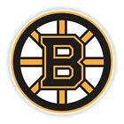 Boston Bruins Round Decal / Sticker Die cut $3.49 USD on eBay