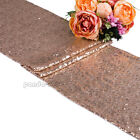 """Sparkle Sequin Table Runner Wedding Party Banquet Decoration 12"""" x 71"""" 108"""" 118"""""""