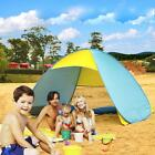 Automatic Pop Up Beach Tent 3-4 Person Portable Cabin Camping Tent Sun Shelter