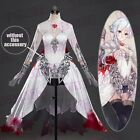 2017 Japanese Game SINoALICE Snow White Cosplay Costume Fancy Dress Outfit