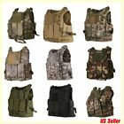 Tactical Military Vest SWAT Police Airsoft Molle Combat Assault Plate Carrier HM