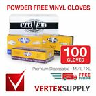 100 pcs Premium  Disposable  - M/L/XL Powder Free Vinyl Gloves