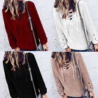 Women Casual Long Sleeve Knitwear Jumper Cardigan Coat Tied Sweater Pullover