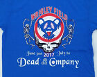 Dead and Company 2017 Wrigley Field Concert T Shirt Grateful Dead Chicago Cubs image
