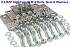 12mm Dia 8.8 Grade BZP High Tensile Bolts - to suit Suspension Mounting Plates