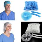 70/100pc Medical Dental Disposable Hair Net Dust Proof Cap Industrial Non-Woven