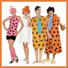 THE FLINTSTONES MEN'S & LADIES FANCY DRESS COSTUMES
