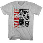 Scarface Gangster Movie Tony Montana Collage Adult T-Shirt Tee