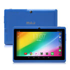 "iRULU 7""Android 6.0 Tablet PC Quad Core Dual Cams 16GB Google GMS Multi-Color"