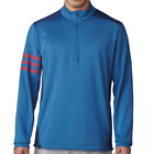 Adidas Golf Competition 1/4 Zip Pullover - Core Blue/Dark Slate