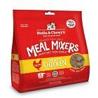 New Stella & Chewy's Freeze-Dried Raw Chewy's Chicken Meal Mixers Dog Food Toppe