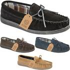 Mens Slip On Casual Stylish Bow Lace Faux Suede Loafers Moccasin Slippers Shoes