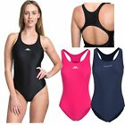Trespass Adlington Womens One Piece Swimsuit  Black Navy Swimming Costume