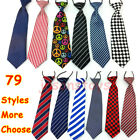 Внешний вид - Elastic Neck Adjustable Tie Baby Boys Girls Child Toddler Wedding Kids Necktie