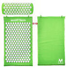 Acupressure Cushion Mat and Pillow Set Back Neck Pain Relief  Muscle Relaxation