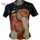 GUSTAV KLIMT Water Serpents Snake Sea NOUVEAU FINE ART PRINT MENs T SHIRT M L XL