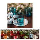 12 x 2.5 Clear Glass Votive Candle Holders for Candle Making Tealight Candle Cup