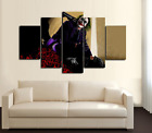 A WONDERFUL HOMAGE TO THE INCREDIBLE LATE HEATH LEDGER PRINT 5 PIECES CANVAS D