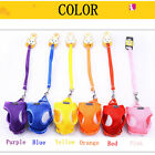 Safety Tint Dog Harness Lead Set Teacup Mini Puppy Chihuahua Rabbit Cat Toy