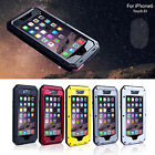 New Shockproof Aluminum Metal Case Cover for iPhone 6 4.7/iPhone 6 Plus 5.5 Inch