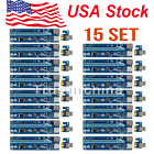 15 Sets USB 3.0 PCI-E Express 1x to 16x Extender Riser Card Cable For Bitcoi US!