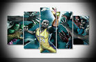 P1540 Kobe Bryant LeBron James  NBA Poster print  framed canvas Home art gallery