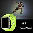 5 Color A1 Bluetooth Wrist Smart Watch For Android Samsung iOS iPhone SIM TF A1