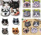 WomenS Dog Face Coin Purse Mini Wallet Bag Pouch Female Coin Key Holder Portable