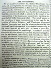 1876 Scientific American newspaper STEREOSCOPE photograph viewing device invente