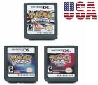 Pokemon Platinum Diamond Pearl Nintendo DS Game Cards US Version [Reproduction]