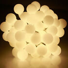 4M 40LED Berry Balls Fairy Lights Battery Operated Christmas Tree Outdoor Garden