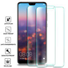 Huawei P20 Pro Lite P10 P9 P8 Tempered Glass Screen Protector Premium Protection