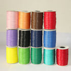 1Roll Waxed Cotton Cord Wire Beading Macrame String Jewelry Wire DIY 1/1.5/2.0mm